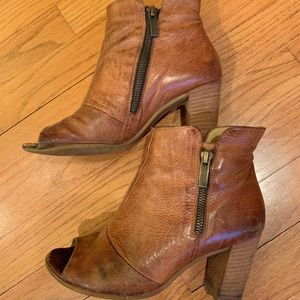 Paul Green Peep Toe Bootie